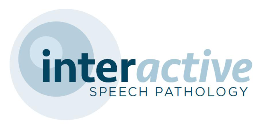 Interactive Speech Pathology